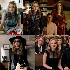 Fallon's outfits from episode 16 #Dynasty #FallonCarrington