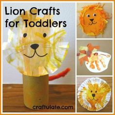 Lion Crafts for Todd