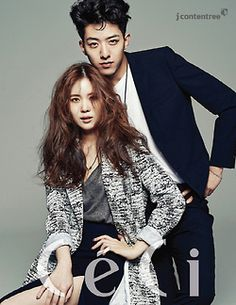 C.N Blue Jung Shin and Kim So Young - Ceci Magazine October Issue '14