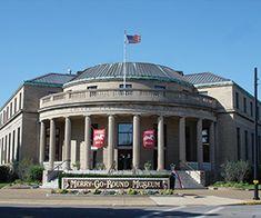 The Merry-Go-Round Museum, downtown Sandusky, Ohio.