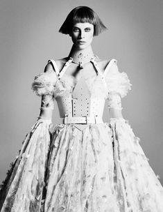 Kristen by Luigi Murenu & Daniele + Iango for i-D's Role Model Issue, Fall 2012.
