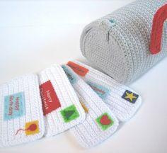 Crochet Mailbox, Send me a Letter!!