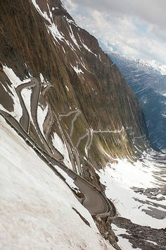 From the Giro d'Italia 2012: Stage 20 - Passo dello Stelvio.