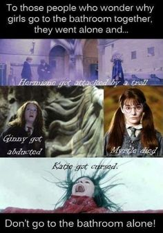 Harry Potter teaches us everything we need to know……hahahahahahaha OHMEGOD! this is amazingly true