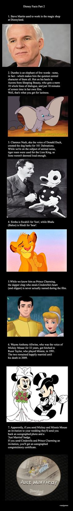 Disney Facts Part 2 didn't know the first