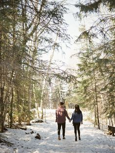 Cabin engagement session   Canadian film photographer Keila Marie Photography   Engagement Session in Falcon Lake