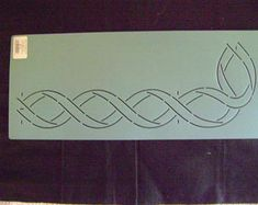 Artículos similares a Patrón plantilla de Sashiko a bordado Sashiko - acrílico - plantillas de acolchado plantilla   en forma de abanico en Etsy Stencil Templates, Stencils, Drawing Process, Neon Signs, Etsy, Make It Yourself, Stitch, Learning, How To Make