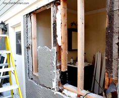 Powder room turned full bath part II - Demo and remodeling process