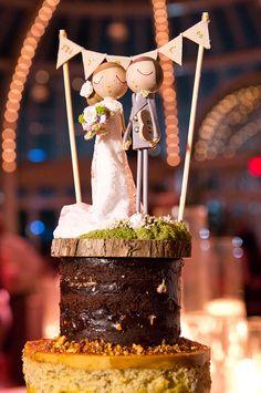 A cheerful Brooklyn Botanic Garden wedding by a guy + a girl photography - Wedding Party