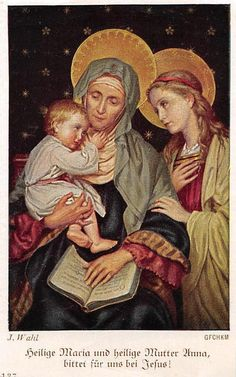 """OLD nice german rare Holy cards from 1930"""" H3098"""" maria jesus anna"""