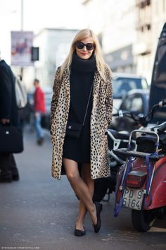 I can't help my leopard obsession! The Chanel must accessories, flats & purse!