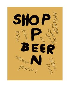 Shop Open Beer