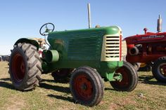 1950 Oliver 77 Tractor. I so want one!