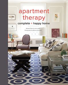 The folks at @apttherapy share nifty, thrifty interior-design ideas in a new book: Apartment Therapy Complete + Happy Home by Maxwell Ryan and Janel Laban (Potter Style, 2015)