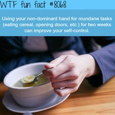 How to improve your self-control - WTF fun fact