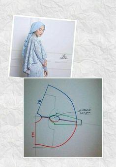 New dress pattern vogue skirts Ideas Abaya Pattern, New Dress Pattern, Cape Pattern, Gown Pattern, Vogue Dress Patterns, Pola Lengan, Easy Sewing Patterns, Mode Hijab, Sewing Techniques