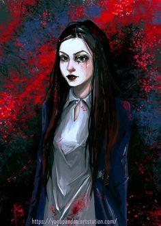ArtStation - Fan-art Alice: Madness Returns, Yana Panda