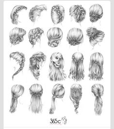 I wish I could do my own hair as good as I can do other people's!! I really want to try some of these!