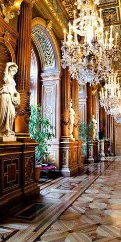 L'Hôtel de Ville de Paris, France ~ Paris Gold & Browns...