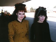 Strawberry Switchblade (especially for Rose McDowall's bouffant bow, on the right)