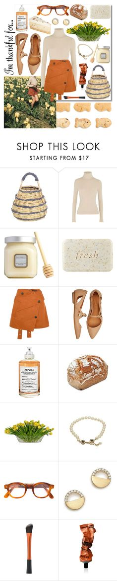 """""""Be thankful. Always."""" by cinnamon-keks ❤ liked on Polyvore featuring Michael Kors, Antonio Marras, Alice + Olivia, Laura Mercier, Fresh, Proenza Schouler, Hanna Andersson, Maison Margiela, Hobbs and The French Bee"""