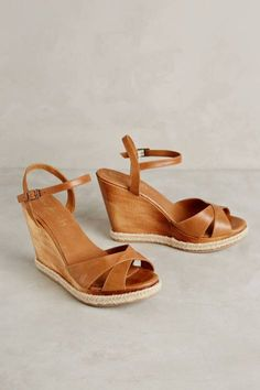 Pineway Wedges by Cordani. Love these! Great camel color and not too tall or platforms