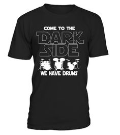 """# Drummer Tshirt Come To The Dark Side Drummer Gift .  Special Offer, not available in shops      Comes in a variety of styles and colours      Buy yours now before it is too late!      Secured payment via Visa / Mastercard / Amex / PayPal      How to place an order            Choose the model from the drop-down menu      Click on """"Buy it now""""      Choose the size and the quantity      Add your delivery address and bank details      And that's it!      Tags: Awesome Drummer Tshirt that…"""