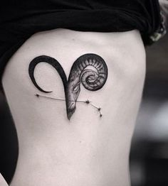 Aries is the First sign of the zodiac and it is ruled by the planet Mars. Aries is a fire sign and it is symbolized by the Ram. Aries people really love getting tattoos. Aries tattoos are really… Aries Symbol Tattoos, Aries Zodiac Tattoos, Aries Ram Tattoo, Pisces Tattoo Designs, Horoscope Tattoos, Mini Tattoos, Cute Tattoos, Body Art Tattoos, New Tattoos