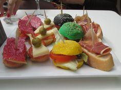 Colorful tapas at Los Angeles Café in Albir