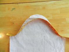 Armkugel flacher machen.  21 Wale: Flatten Your Sleeve Cap