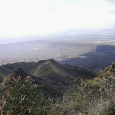 View from Mt Longonot crater in Naivasha #Kenya is a #Wonderland