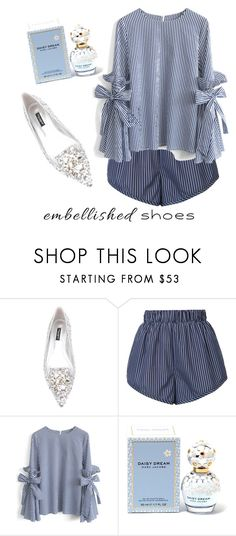 """embellished shoes"" by orkhonlkh ❤ liked on Polyvore featuring Dolce&Gabbana, STELLA McCARTNEY, Chicwish and Marc Jacobs"
