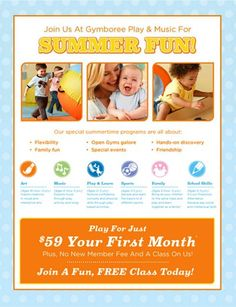 Free Class + Play For Just $59 Your First Month At Gymboree Play & Music! at Gymboree