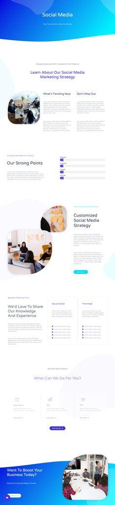 Digital Agency – Landing Page Wordpress Template, Template Web, Free Website Templates, Web Design, Graph Design, Website Design Inspiration, Portfolio Website Design, Website Layout, Landing