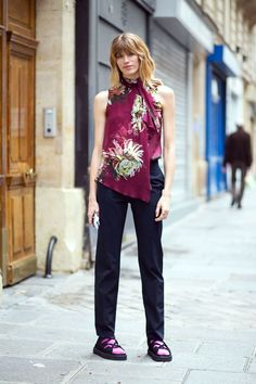 Haute Couture Fall 2014 - Street Style