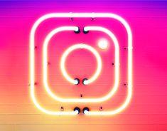 """다음 @Behance 프로젝트 확인: """"Instagram - Neon Sign"""" https://www.behance.net/gallery/38604307/Instagram-Neon-Sign"""