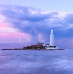 St. Mary's Lighthouse, Whitley, UK