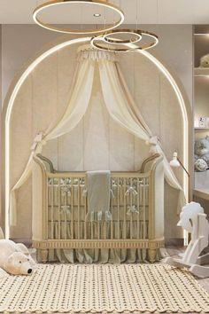 Baby Room Decor, Nursery Room, Luxury Nursery, Girls Bedroom, Bedroom Ideas, Bedrooms, Pink Room, Room Inspiration, Kidsroom