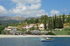 Avlaki beach and Bella Mare Corfu Hotel