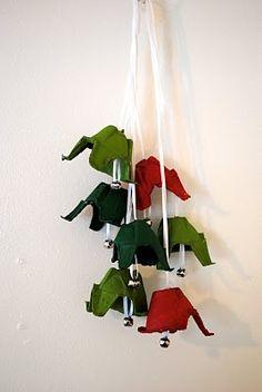 Christmas -Jingle bells from an egg carton
