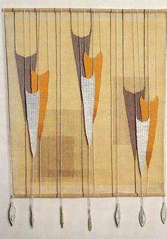 Theo Moorman   woven hanging   London, U.K.   c. 1990