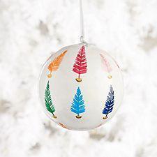 Brushstroke Trees Ornament
