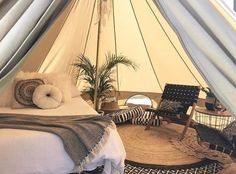 Luxury camping company located on the NSW South Coast. We set up our styled bell tents are your chosen location for the ultimate glamping out experience. Bell Tent Glamping, Yurt Tent, Camping Glamping, Outdoor Camping, Luxury Glamping, Luxury Tents, Tent Living, African House, Tent Decorations