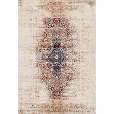 nuLOOM Vintage Persian Distressed Ivory Rug (7'10 x 10'10) (Ivory), Size 8' x 10'