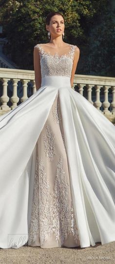 Rica Sposa Wedding Dress Collection 2018 - Hola Barcelona