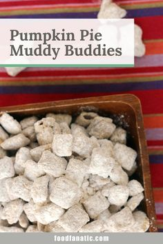 Make Pumpkin Pie Muddy Buddies with pumpkin pie spice for a fun fall treat! Great as a party snack or a simple treat to have around the house. Pumpkin Recipes, Fall Recipes, Snack Recipes, Pumpkin Loaf, Pumpkin Spice Latte, Muddy Buddies Recipe, Fall Treats, Fall Baking, Party Snacks