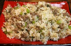 Homemade Dirty Rice & A Tale Of No Refunds ~ http://www.southernplate.com