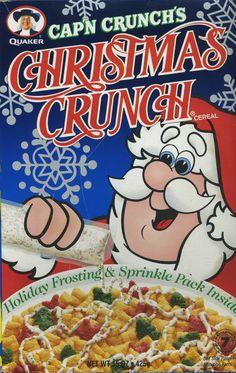 Christmas Crunch 1995 ©Quaker Oats Co.