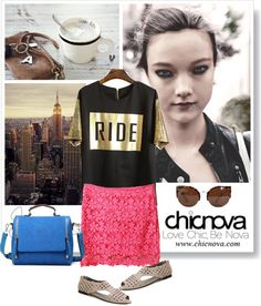 """(i)chicnova"" by silda ❤ liked on Polyvore"