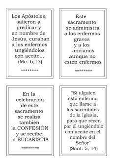 La Catequesis (El blog de Sandra): Recursos Catequesis Los Sacramentos Kids Church Lessons, Catholic, Prayers, Bullet Journal, Faith, Children, Blog, Molde, Kids Letters